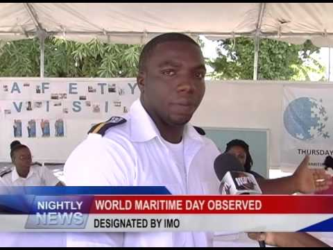 WORLD MARITIME DAY OBSERVED