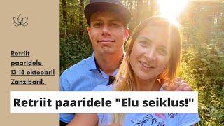 """☆ Zanzibari retriit paaridele """"ELU SEIKLUS!"""" ☆"""