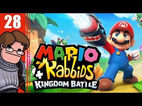 Let's Play Mario + Rabbids Kingdom Battle Part 28 - Statue Rendezvous