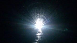 Подземный туннель В Астане  (в конце туннеля белый свет)