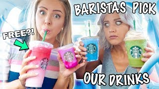 Download Letting Starbucks Baristas Pick Our Drinks For A Week... Mp3 and Videos