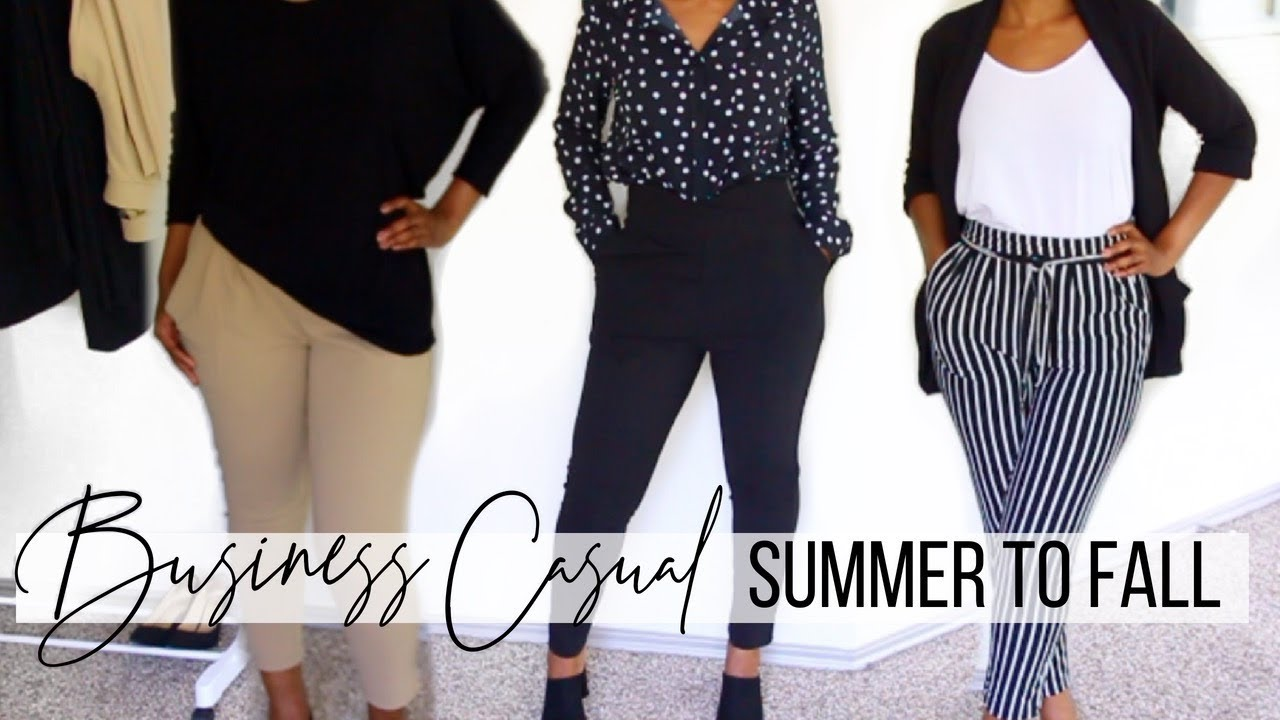 BUSINESS CASUAL LOOKBOOK | SUMMER TO FALL WORK OUTFITS | FALL OFFICE WEAR 2
