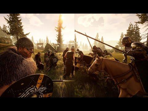 Mordhau - Vikings VS Knights Part One & Two