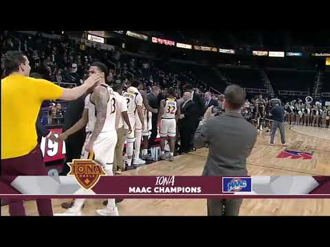 Iona College is going dancing for the fourth straight year.
