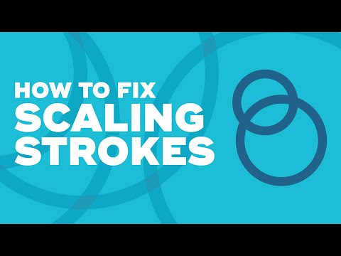 How to fix strokes scaling in Illustrator