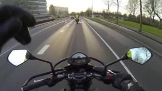 Motorexamen AVD Warming-up! Resultaat: GESLAAGD!!