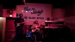 watching GIG at Blue Chicago.