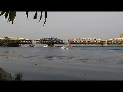Imbaba bridge open