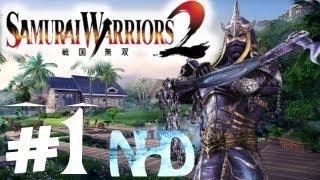 Let's Play Samurai Warriors 2 Hanzo Hattori Ch1 Battle of Anegawa