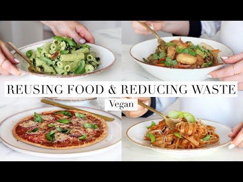 Reusing Leftovers & Reducing Food Waste (Vegan) AD | JessBeautician