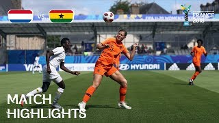 Netherlands v. Ghana - FIFA U-20 Women's World Cup France 2018 - Match 10