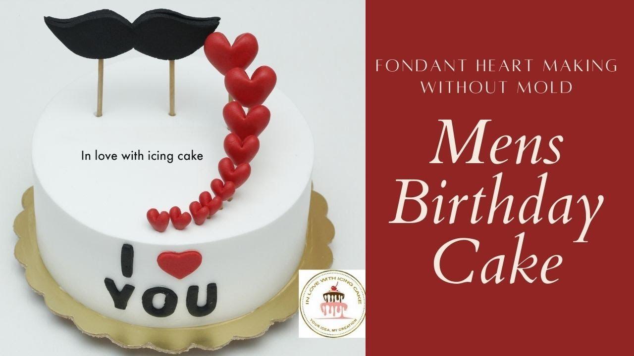 Birthday Cake Ideas For Mens Cake Designs For Men Cake Ideas For Husband Birthday Cake For Dad Youtube