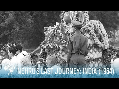 Nehru's Last Journey: Indian Prime Minister's Final Wish (1964) | British Pathé