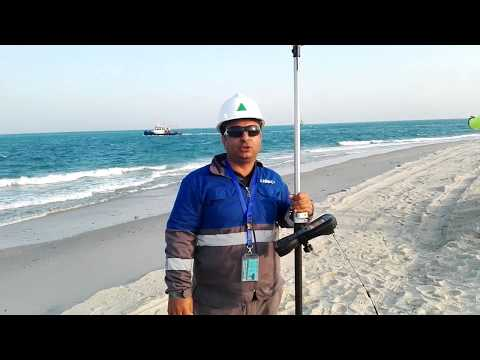 How to find a position with Trimble GPS with save Poiin Urdu/Hindi
