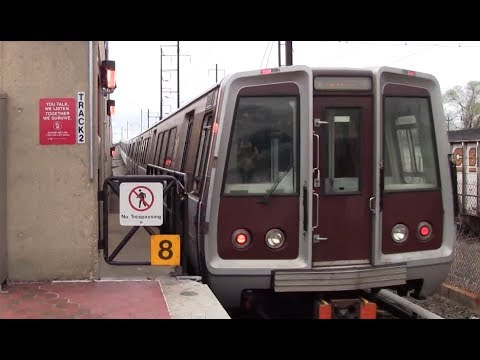 ᴴᴰ Washington Metro: Orange Line Action at Minnesota Avenue