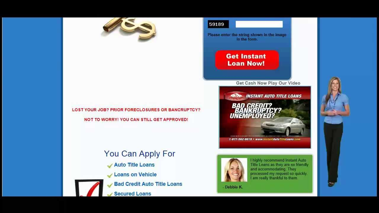 Best Illinois Title Loans Rates Youtube