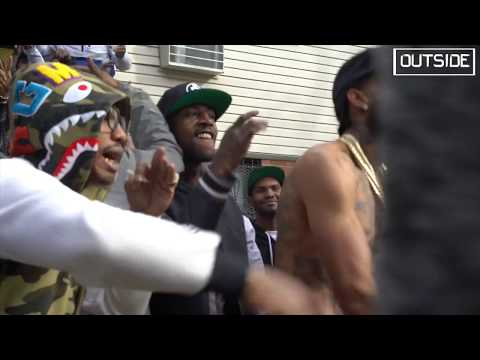 Nipsey Hussle - Rap Niggas ( Behind The Scenes ) OUTSIDE W PVNCH ; Victory Lap in Brooklyn NY