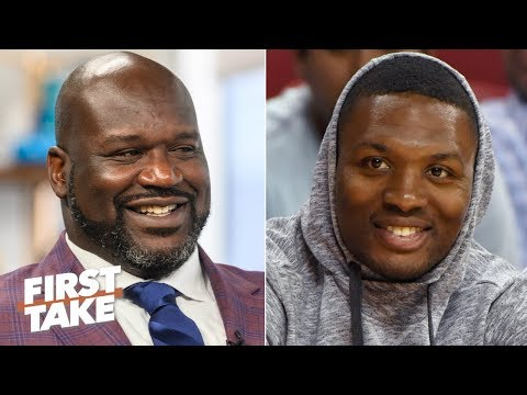 Shaq or Damian Lillard: Who's winning the rap battle? | First Take