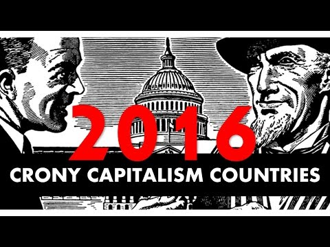 CRONY CAPITALISM countries 2016