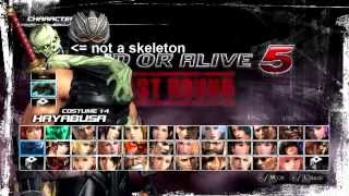 Dead or Alive 5: Last Round on PC - Pretty Long Cutscene...