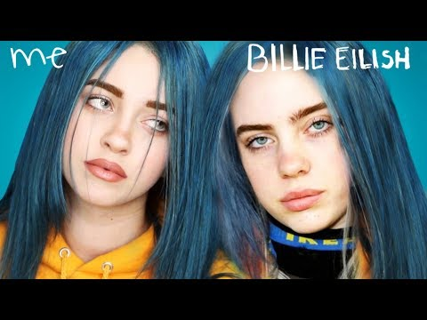 Chris Cruz - LOOK LIKE! Billie Eilish Transformation make-up tutorial!