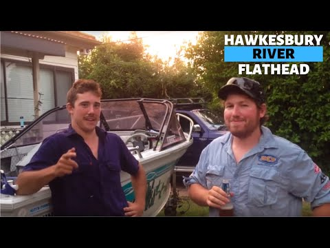 Fishing for Flathead in the Hawkesbury River