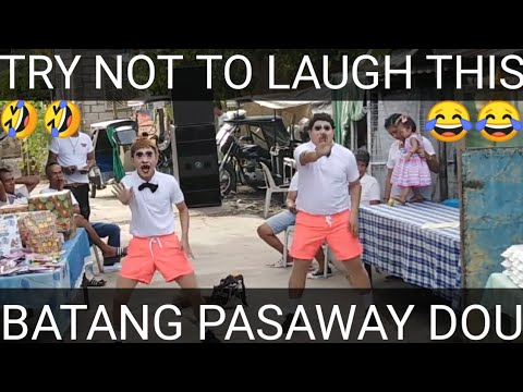 TRY NOT TO LAUGH THIS|BATANG PASAWAY DOU|COMEDIAN
