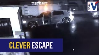 WATCH: Vigilant Durban driver escapes driveway highjacking