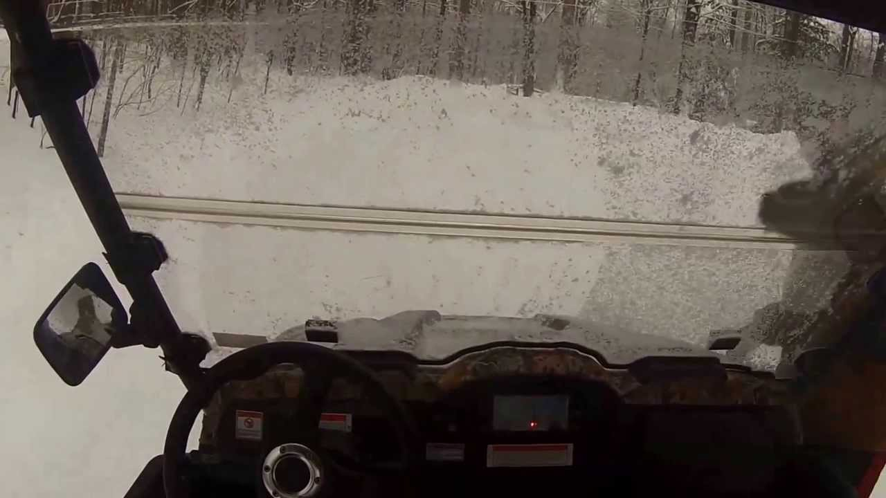 Massimo MSU 500 UTV Joyride - 16` Snow @ Camp Rob