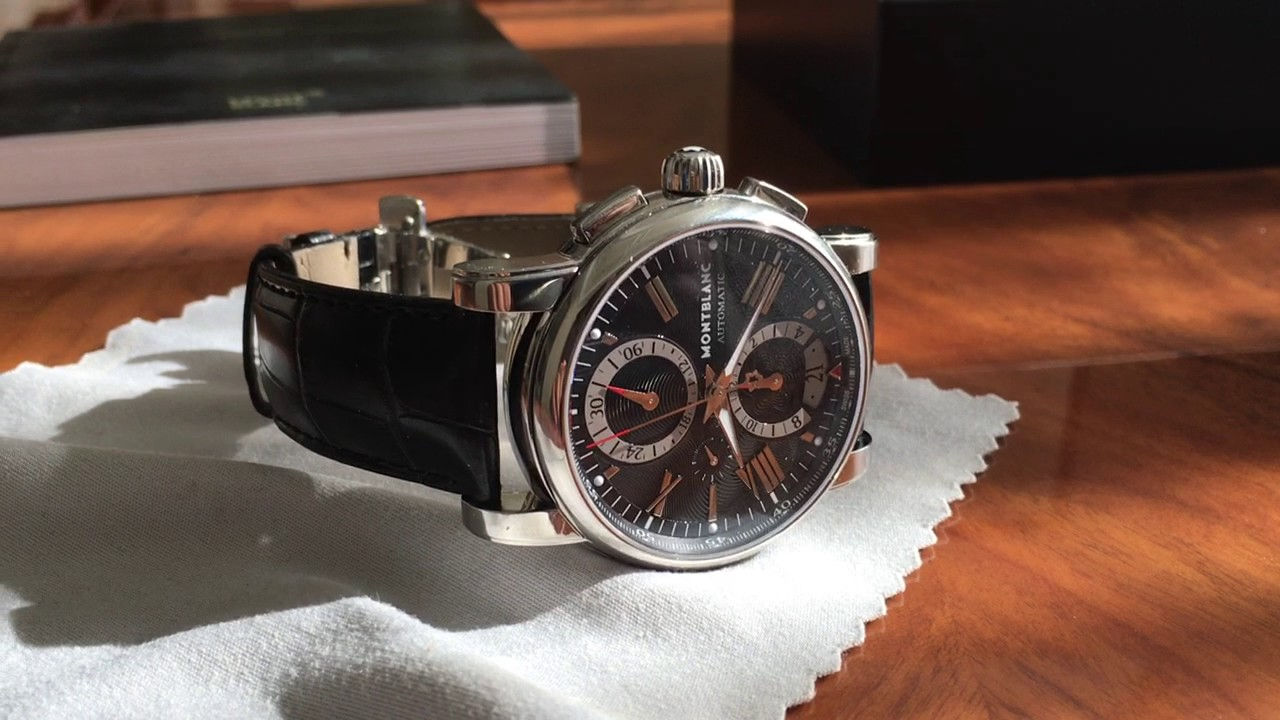2bd900f1c45 Montblanc star 4810 chronograph watch review - YouTube