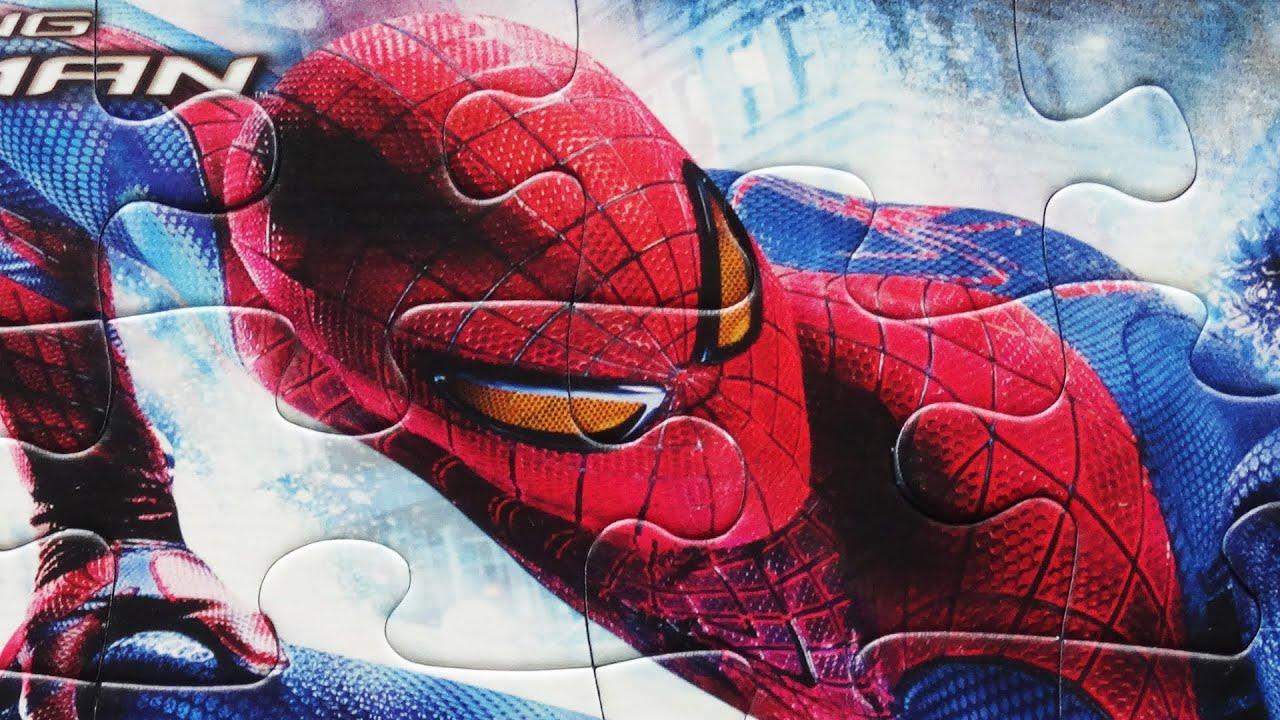 spiderman jigsaw puzzle games rompecabezas clementoni puzzle for