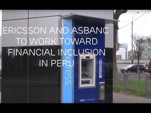 Ericsson and ASBANC work toward financial inclusion in Peru