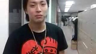 A video from Yuya Matsushita's blog posted on 2009-08-22.