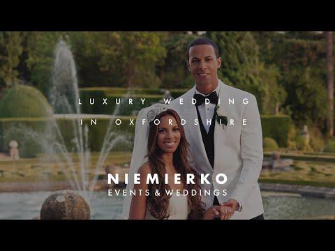 Blenheim Palace wedding by leading luxury wedding planner Mark Niemierko