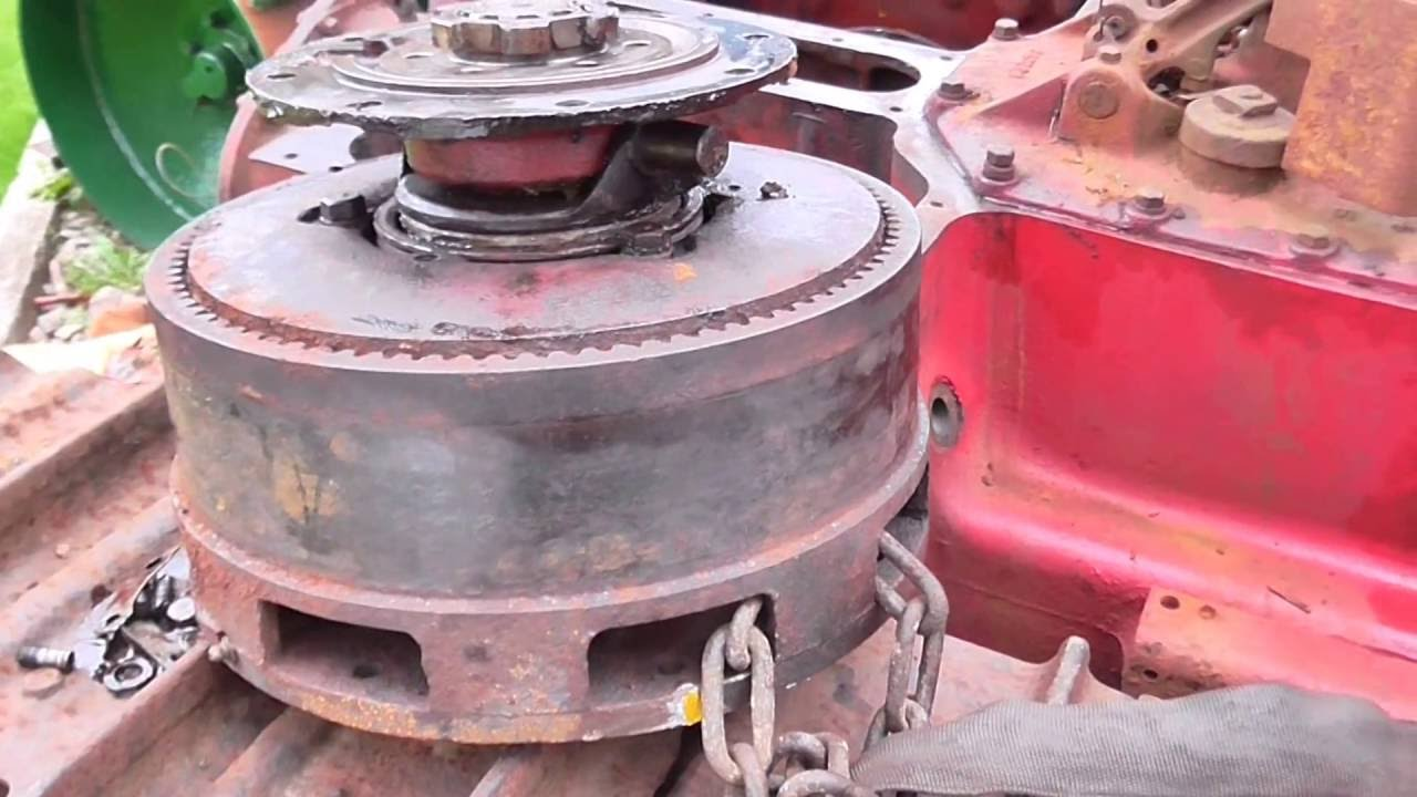 International Harvester TD6 steering clutches