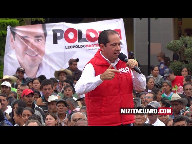 ¿A qué se comprometió Polo Martínez durante el Cierre de su Campaña?