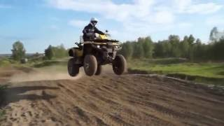 видео Утилитарный Квадроцикл Stels 800 Guepard