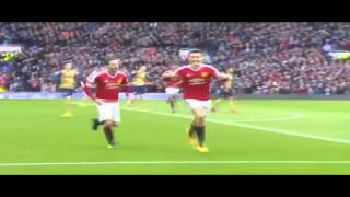 Cuplikan Gol Manchester United Vs Arsenal 3-2 (28-02-2016)