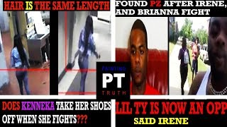 KENNEKA JENKINS/ FOUND PZ WITH IRENE, LIL TY IS NOW AN OPP.