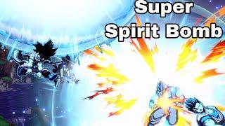 GT Goku's Super Ultra Spirit Bomb! The Ultimate Combo Attack! Dragon Ball FighterZ Season 2