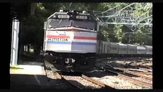 Amtrak Broadway Limited and Others 1993 Overbrook PA