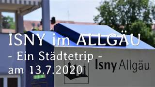 ISNY im Allgäu - Städtetrip  Photostory 2020 07 13