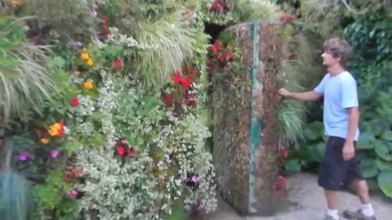 Mur De Separation Exterieur Decoration En Trompe L Oeil En Exterieur
