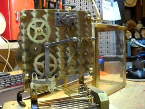 Schatz mantel clock with 3 melodies