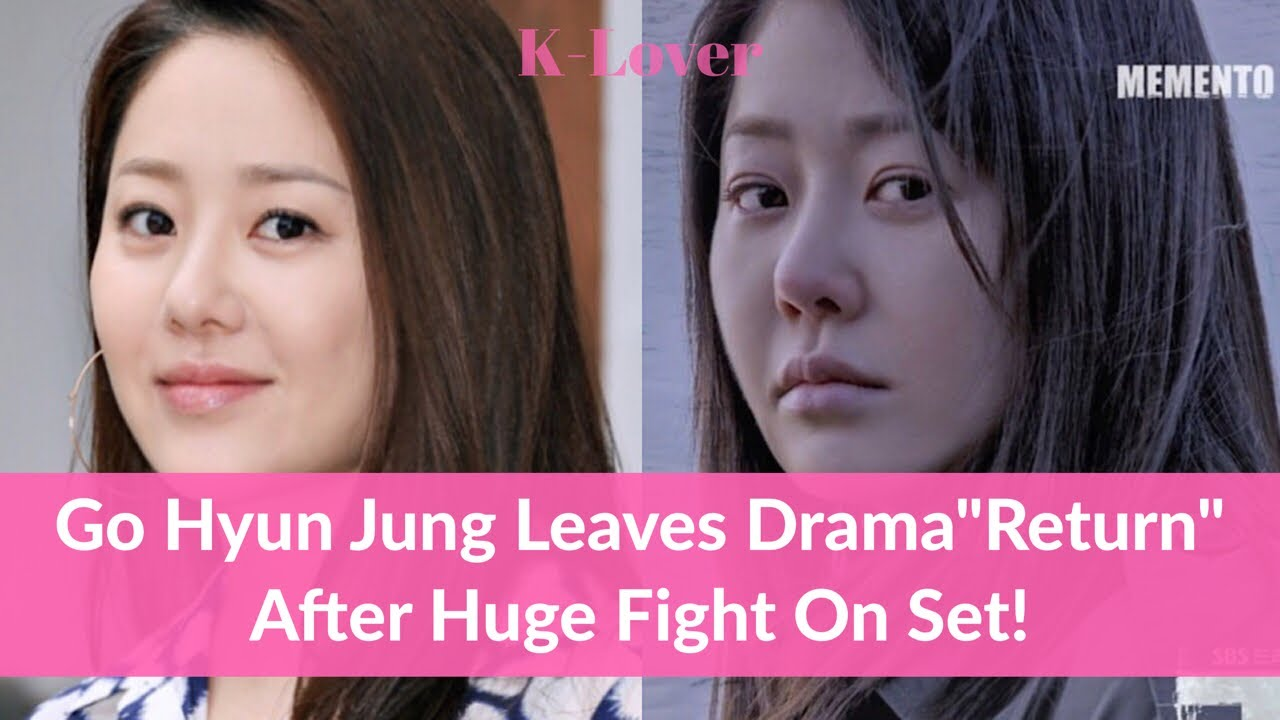After Huge Fight On Set, Actress Go Hyun Jung Leaves Korean Drama