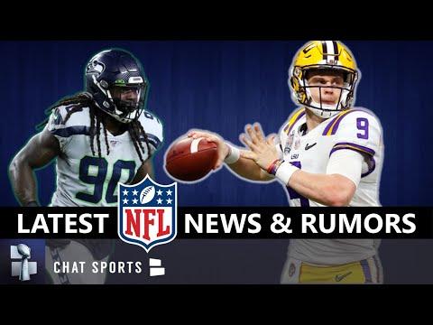 NFL News & Rumors On Jadeveon Clowney Update, Yannick Ngakoue, Free Agency + Joe Burrow, Jordan Love