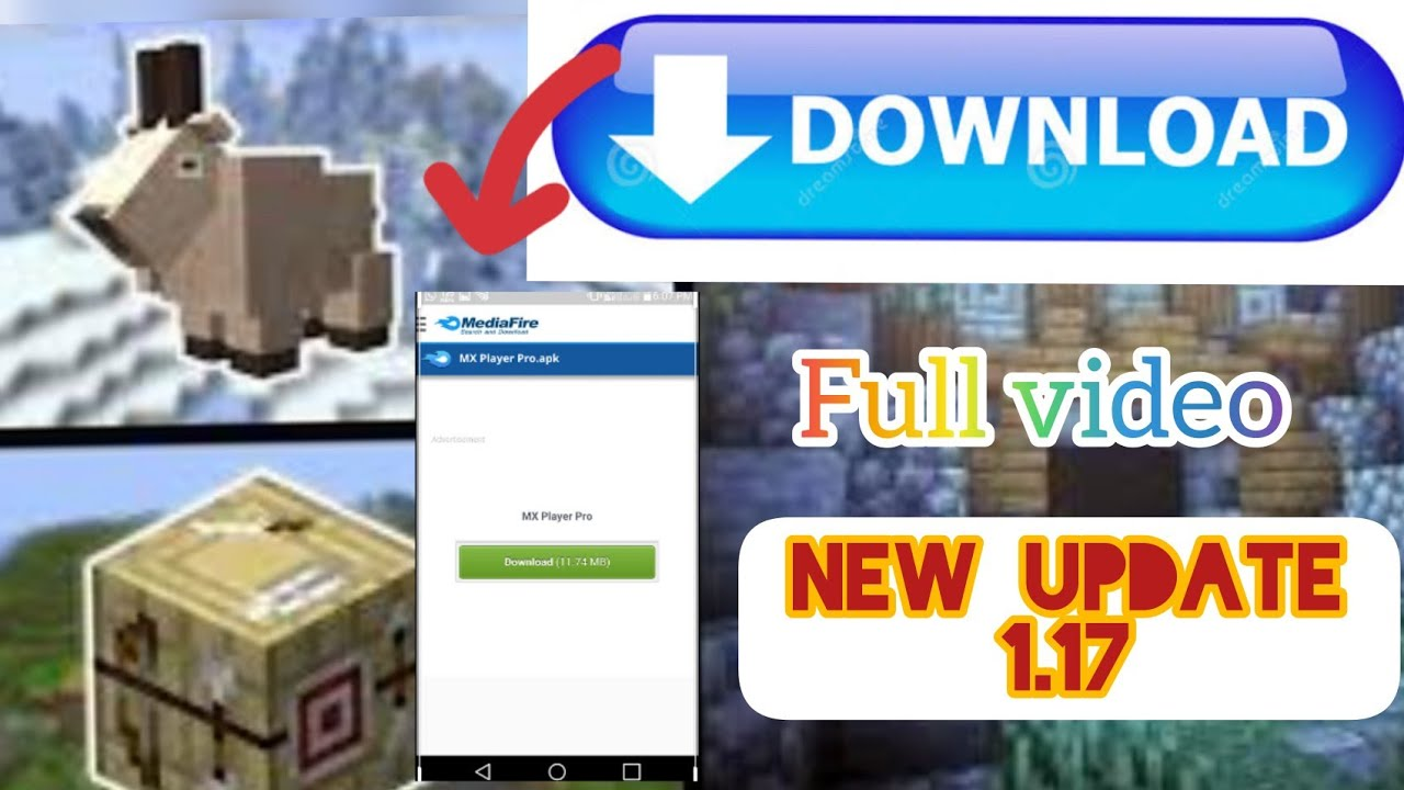 [MCPE 1.17] How To Download Minecraft Cave Update | Get ...