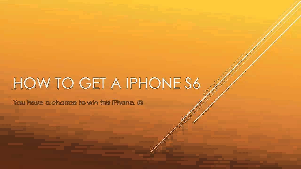 how to get a free iphone for free