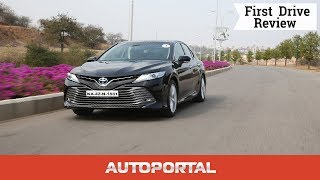 2019 Toyota Camry Hybrid - First Drive Review - Autoportal