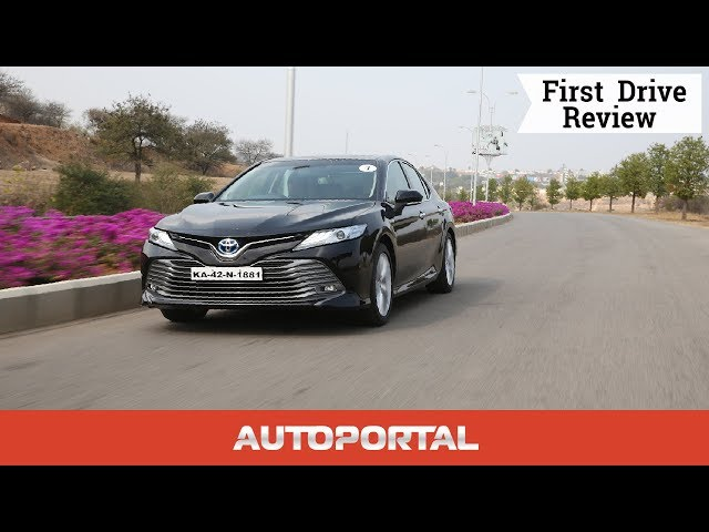 all new camry 2019 review interior yaris trd 2018 toyota hybrid first drive autoportal video